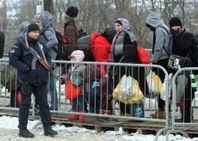 Поток беженцев в ЕС