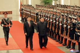 Ким Чен Ын в третий раз