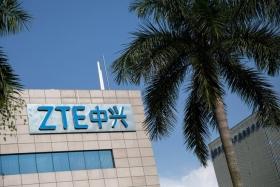 Акции ZTE резко выросли