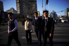 Работники китайской