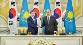 Казахстан и Южная Корея