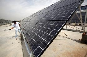 Первая в Китае солнечная