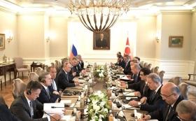 Путин призвал Эрдоргана