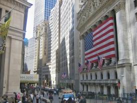 Банкиры с на Уолл-стрит