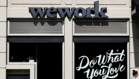 Коворкинг WeWork подает